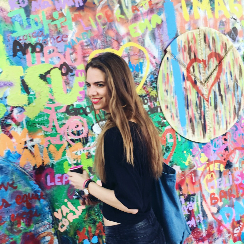 Praag hotspots John Lennon Wall