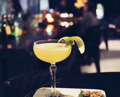 Cocktails bij het Andaz