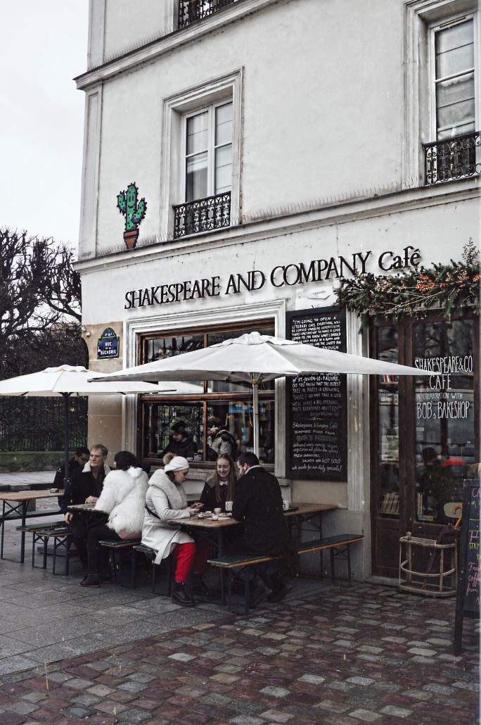 Shakespeare and Company Cafe Parijs