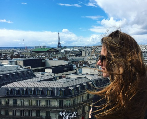 Parijs Hotspot Gallerie la Fayette Uitzicht
