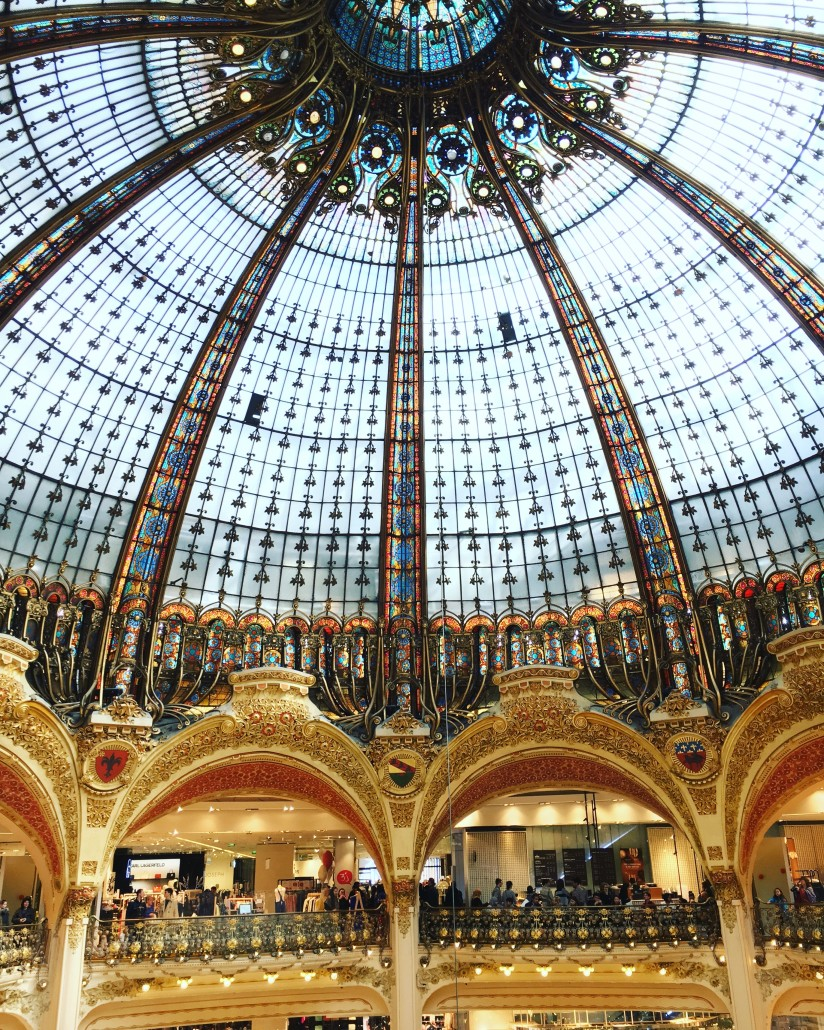 Travel Parijs Hotspot Gallerie La Fayette