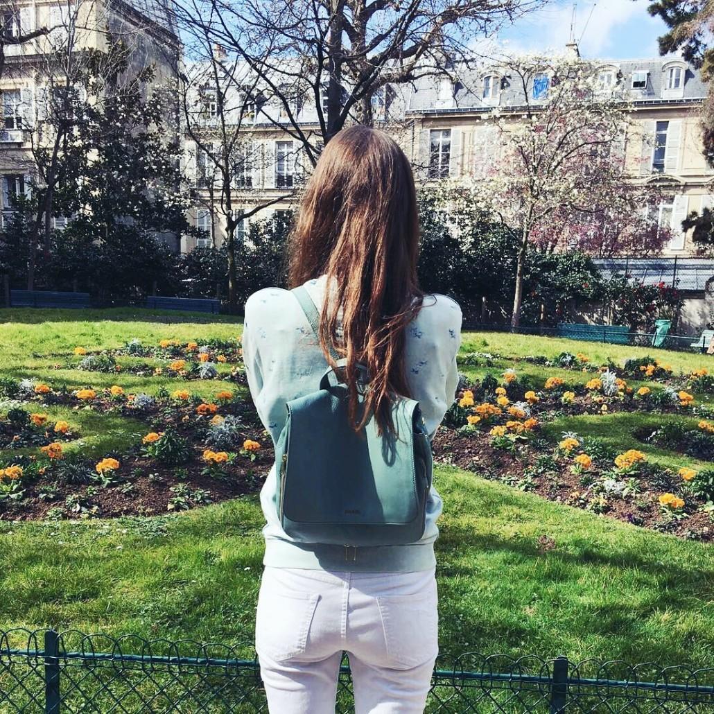 Parijs hotspots tuin