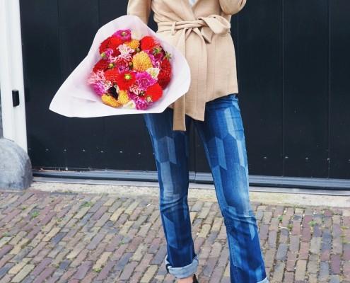 Outfit: Gek op bloemen...