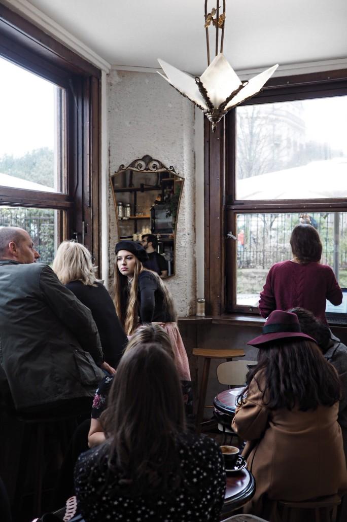 Shakespeare and Company Cafe Parijs